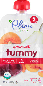 Plum® Organics Grow Well™ Tummy Baby Food 3.5 oz. Pouch