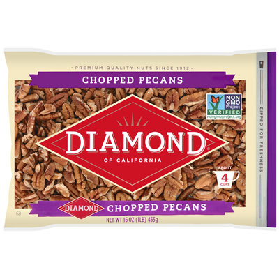 Diamond of California® Chopped Pecans 16 oz. Bag