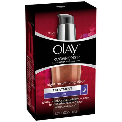 Olay Regenerist Advanced Anti-Aging Night Resurfacing Elixir 1.7 fl. oz. Bottle