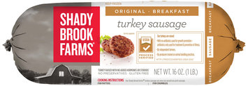 Shady Brook Farms® Original Breakfast Turkey Sausage 16 oz. Chub