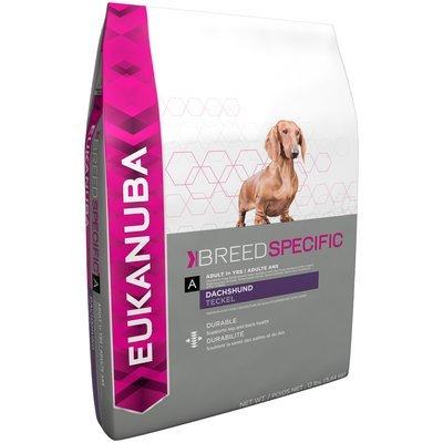 Eukanuba Breed Specific Adult Dachshund Dog Food 12 lb. Bag