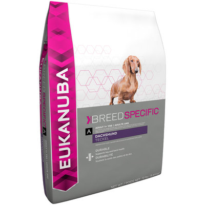 Eukanuba Breed Specific Adult Dachshund Dog Food 12 lb. Bag