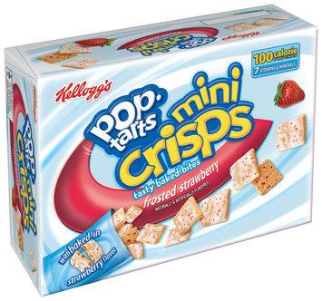 Kellogg's Pop-Tarts Mini Crisps Frosted Strawberry Toaster Pastry Bites