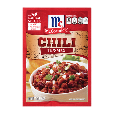 McCormick® Tex Mex Chili Seasoning Mix