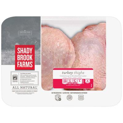Shady Brook Farms® Turkey Thighs 2.0 lb Tray