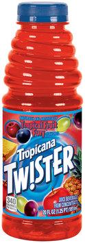 Twister Tropical Fruit Fury Juice Beverage 20 Oz Bottle