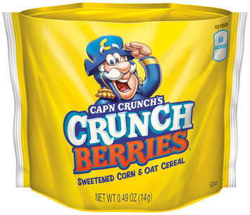 Cap'n Crunch® Go Snacks Grunch Berries Cereal 0.49 oz. Bag