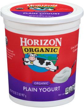 Horizon Organic® Plain Yogurt 32 oz. Tub