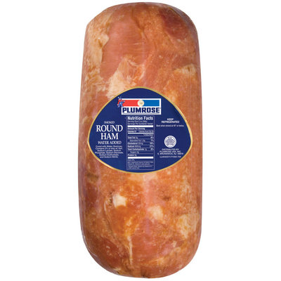 Plumrose Ham Round Smoked Food Service 1 Ct