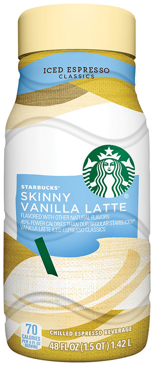 Starbucks skinny vanilla latte iced espresso 48 fl oz bottle reviews sisterspd