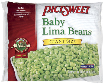 PICTSWEET All Natural Baby Lima Giant Size Beans 64 OZ BAG