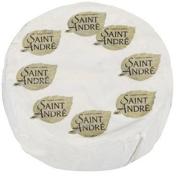 Saint Andre® Triple Creme Soft-Ripened Cheese 4.03 lb Box