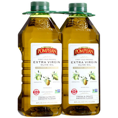 Pompeian® Gourmet Selection Extra Virgin Olive Oil 2-48 fl. oz. Bottles