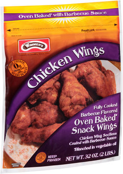 Wimmer's® Barbecue Flavored Chicken Wings 32 oz. Pouch