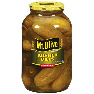 Mt. Olive Kosher Dills Pickles 64 Oz Jar