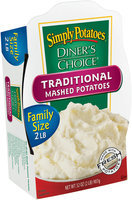 Simply Potatoes/Diner's Choice Traditional Mashed Potatoes 2 Lb Tray