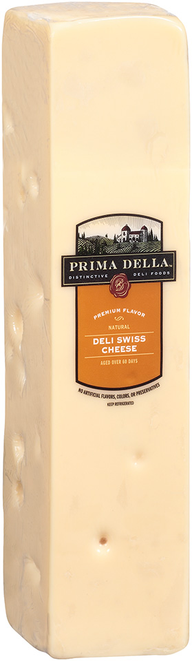Prima Della™ Distinctive Deli Foods Natural Deli Swiss Cheese Loaf