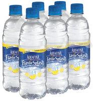 Aquafina® FlavorSplash® Lemon Water Beverage 6 Pack 16.9 fl. oz. Plastic Bottles