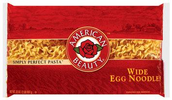 American Beauty Wide Egg Noodles 32 Oz Bag