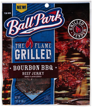 Ball Park® The Flame Grilled Bourbon BBQ Beef Jerky 2.85 oz. Pack