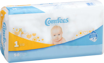 CMF-1 Comfees® Baby Diapers Size 1, 50 count