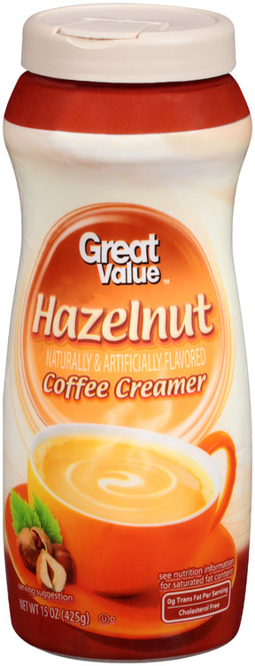 Great Value™ Hazelnut Coffee Creamer