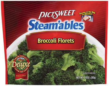 STEAM'ABLES DELUXE Florets Broccoli 10 OZ STAND UP BAG