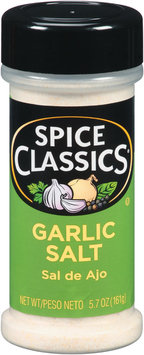 Spice Classics® Garlic Salt 5.7 oz. Shaker