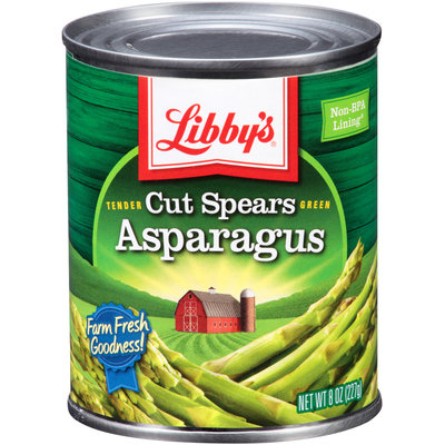 Libby's® Tender Green Cut Asparagus Spears 8 oz. Can