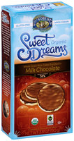 Sweet Dreams® Organic Whole Grain Rice Cakes Enrobed in Milk Chocolate 6 ct Box