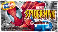 Popsicle Spider-Man Bar Single Serve Novelty