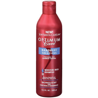 Optimum Care Dandruff Solutions Moisture Rich Shampoo 13.5 Oz