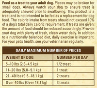 Purina Beyond Jerky Strips with Chicken & Carrots Natural Dog Snacks 2.7 oz. Bag