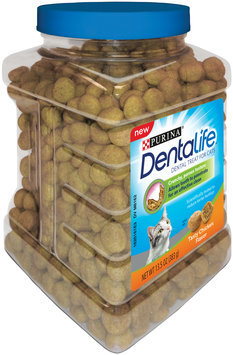 Purina DentaLife Tasty Chicken Flavor Dental Treats for Cats 13.5 oz. Canister