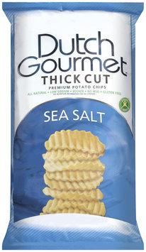 Dutch Gourmet Sea Salt Potato Chips   Bag