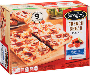 STOUFFER'S Pepperoni French Bread Pizza 51.13 oz. Box