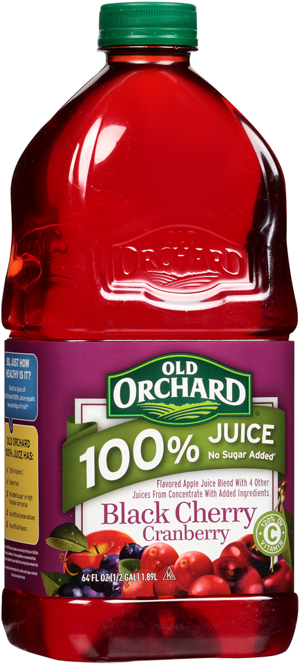 Old Orchard® 100% Juice Black Cherry Cranberry Juice 64 fl. oz. Bottle