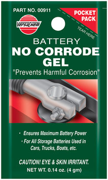 VersaChem® Battery No Corrode Gel 0.14 oz. Pocket Pack