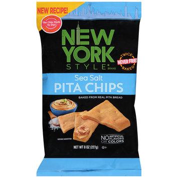 New York Style® Sea Salt Pita Chips 8 oz. Bag