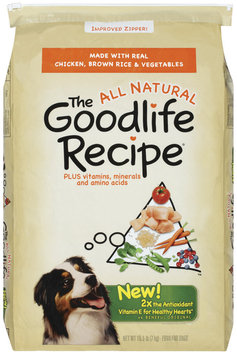 Archived The Goodlife Recipe Archived W/Chicken Brown Rice & Vegetables Dry Dog Food 15.5 Lb Bag