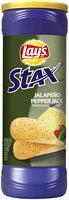LAY'S® Stax® Jalapeno Pepper Jack Potato Crisps Canister