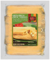 Nuevo Grille® Green Chile & Cheese Tamales 4-4 oz. Tamales