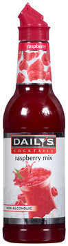 Daily's® Cocktails Non-Alcoholic Raspberry Mix 33.8 fl. oz. Bottle