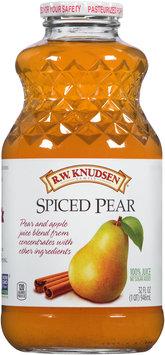R.W. Knudsen Family® Spiced Pear 100% Juice 32 fl. oz. Bottle