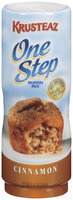 Krusteaz One Step Cinnamon Muffin Mix 8.47 Oz Plastic Container