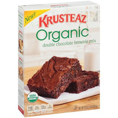 Krusteaz Organic Double Chocolate Brownie Mix 16 oz. Box