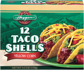 Haggen Yellow Corn 12 Ct Taco Shells  4.5 Oz Box