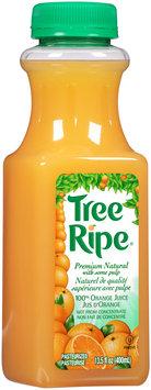 Tree Ripe® Premium Natural 100% Orange Juice 13.5 fl. oz. Bottle