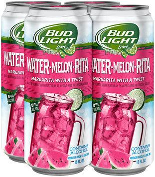 Bud Light Lime® Water-Melon-Rita Malt Beverage 16 fl. oz. Can