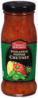 Crosse & Blackwell® Pineapple Pepper Chutney 8 oz. Bottle